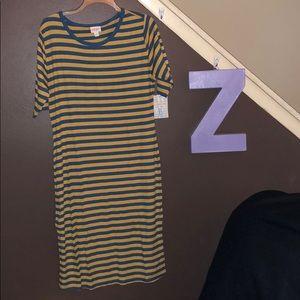 Lularoe Julia form fitting dress XL